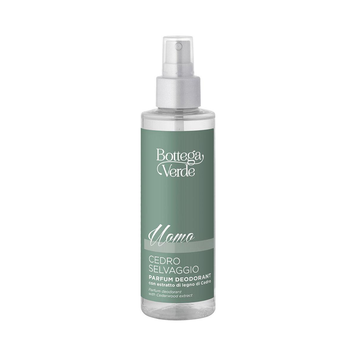 Bottega Verde Desodorante perfumado con extracto de madera de Cedro (150 ml) Cedro silvestre