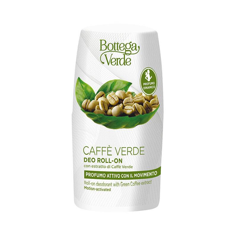 Bottega Verde Desodorante roll-on - con extracto de Café Verde (50 ml) - perfume activo con el movimiento