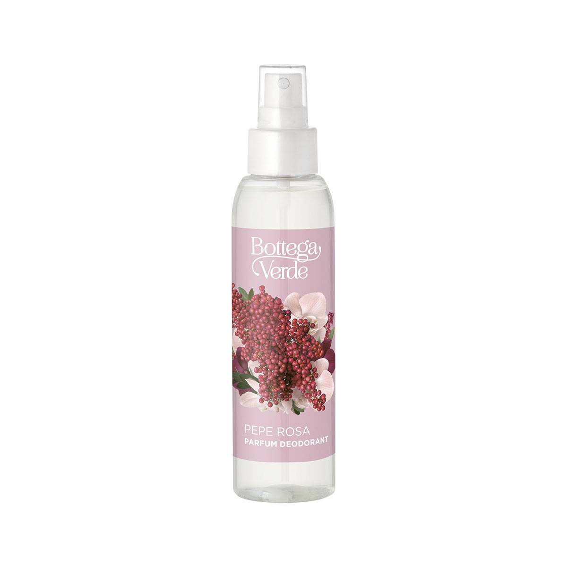 Bottega Verde Perfume desodorante (125 ml) - Pimienta Rosa
