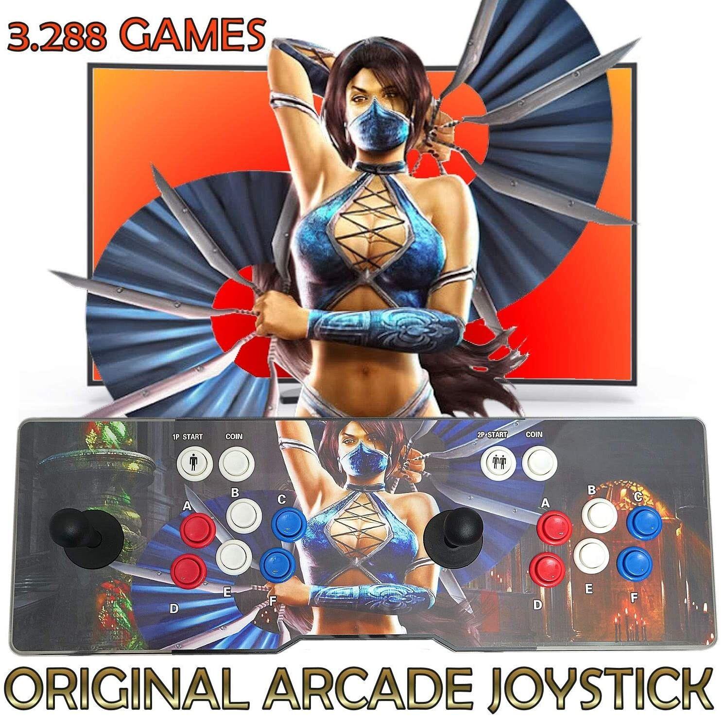 Unicview Consola de Videojuegos Jamma Pandora´s Box 9H Joystick