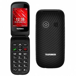 Telefunken S440 Teléfono para Mayores Negro