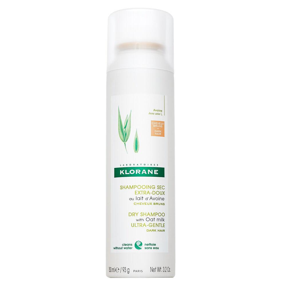 Klorane Dry Shampoo With Oat Milk Champú seco Para el cabello oscuro 150 ml