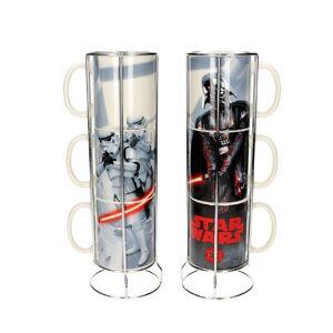 Darth Vader Stormtroopers Star Wars - Juego de 3 tazas