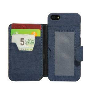Funda tipo cartera para iPhone 5/5S