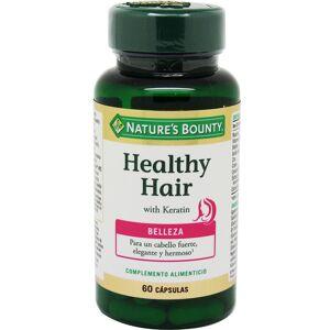 Nature's Bounty Healthy Hair Keratina 60 Capsulas
