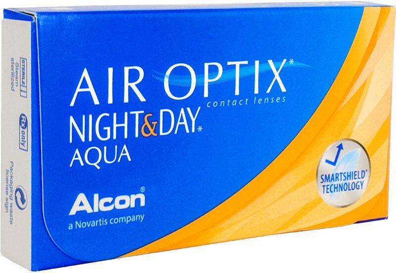 Air Optix Night & Day Aqua (caja de 6), Alcon (Ciba Vision)
