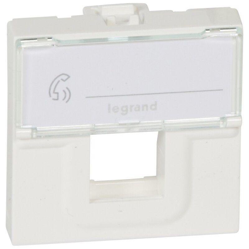 Legrand Tapa Informatica  Para 1 Conector Keystone  078604 Mosaic Blanco