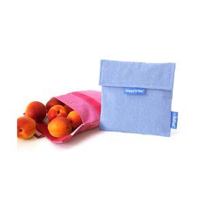 Roll´eat Porta Alimentos Snack n'Go Eco Azul