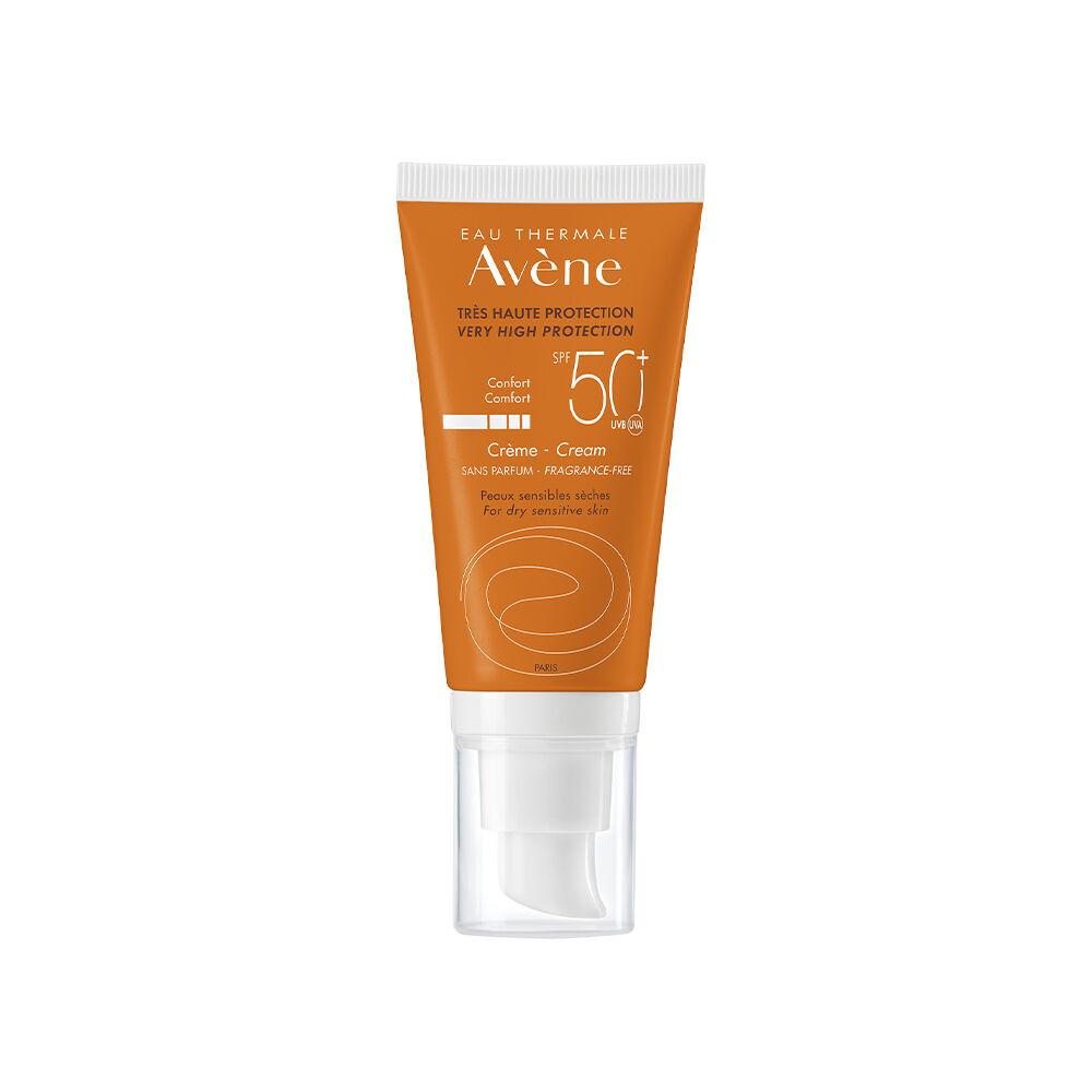Avène Solar Crema Facial Toque Seco Sin Perfume SPF50 + 50ml