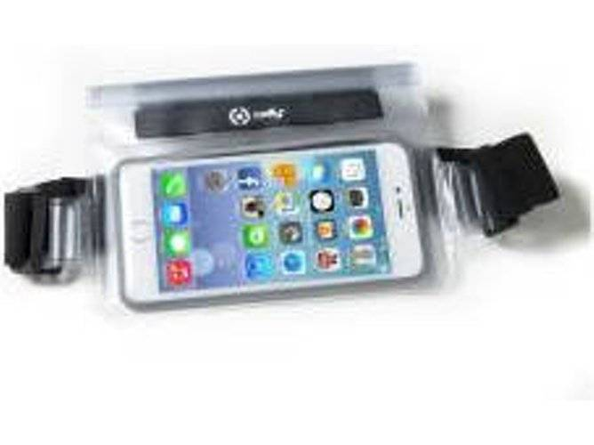 CELLY Riñonera iPhone 7, 7 Plus CELLY SPLASHBELTWH Blanco