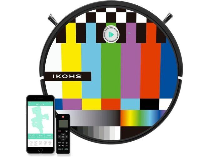 IKOHS Aspiradora Robot IKOHS Netbot 15 +Pegatinas IKOHS Colorido (Autonomía: 120 min)