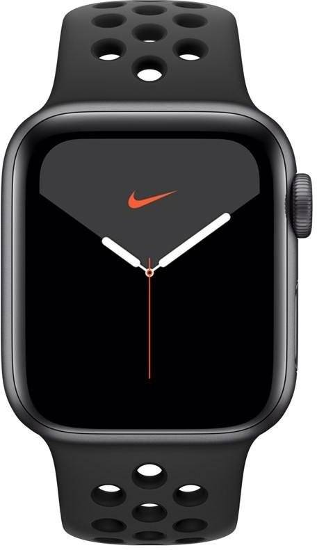 Apple Reloj Apple Apple Watch Series 5 GPS, 40mm Space Grey Aluminium Case with Anthracite/Black Sport Band