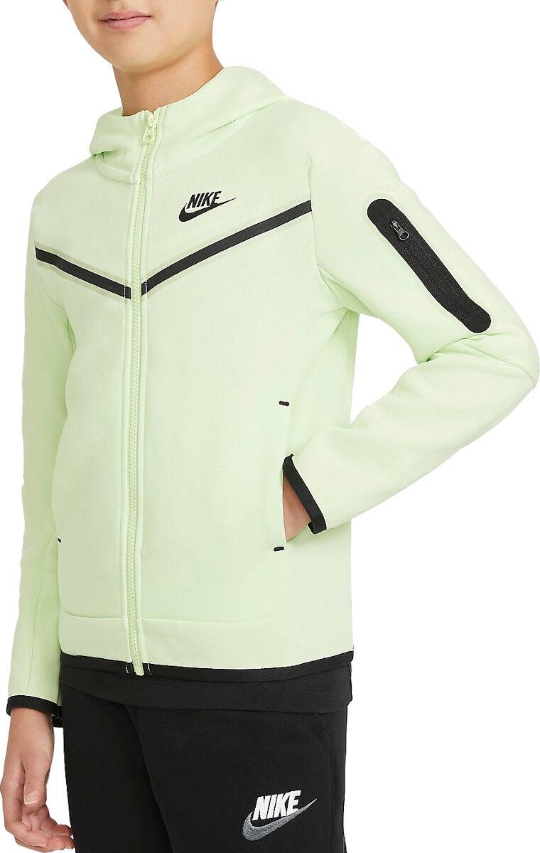 Nike udadera con capucha Nike Y NW TECH FLC FZ HOODIE