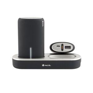 Ngs twin peaks batería externa negro 5000 mah