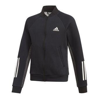 Adidas YG ID YVFA CovU - Chaqueta junior black/white