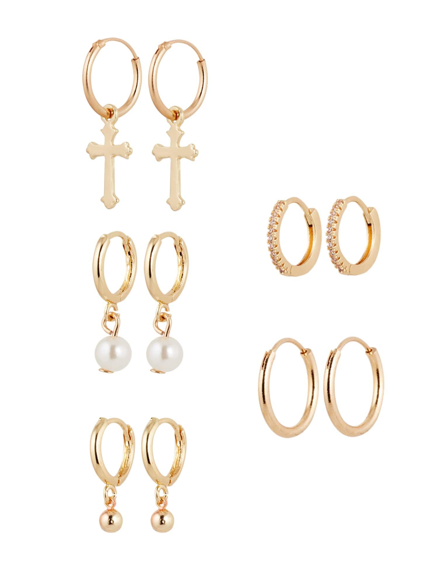 ABOUT YOU Conjunto de joyería 'Liana' Oro