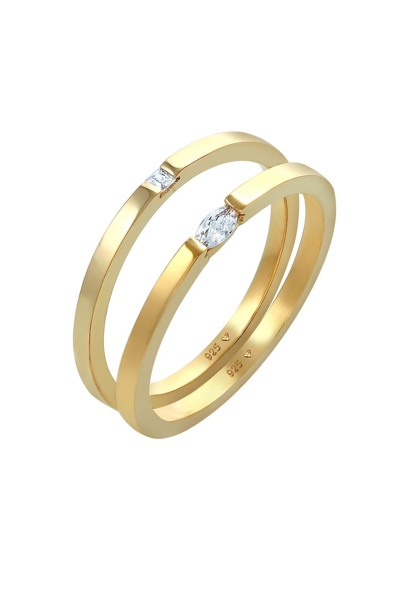 ELLI Conjunto de joyería Oro