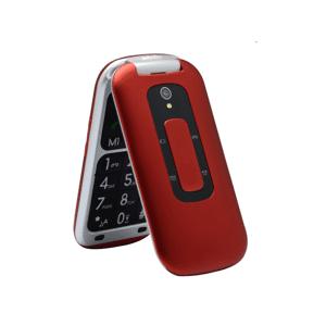 "Telefunken Móvil - Telefunken TM240 COSI, Para mayores, Bluetooth, 2.6 "", 64 MB, Rojo"