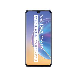 """VIVO Móvil - Vivo V21 5G, Violeta, 128 GB, 8 GB, 6.44"""" FHD+, 90 Hz, AMOLED, MTK Dimensity 800U, 4000 mAh, Android"""