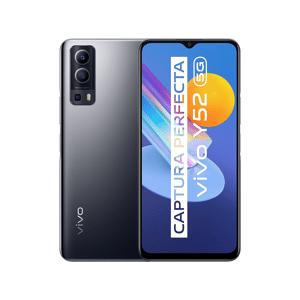 """VIVO Móvil - Vivo Y52 5G, Graphite Black, 128GB, 4GB RAM, 6.58"""" Full HD+, Dimensity 700, 5000 mAh, Android"""