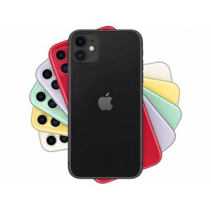 "Apple iPhone 11, Negro, 64 GB, 6.1"" Liquid Retina HD, Chip A13 Bionic, iOS"