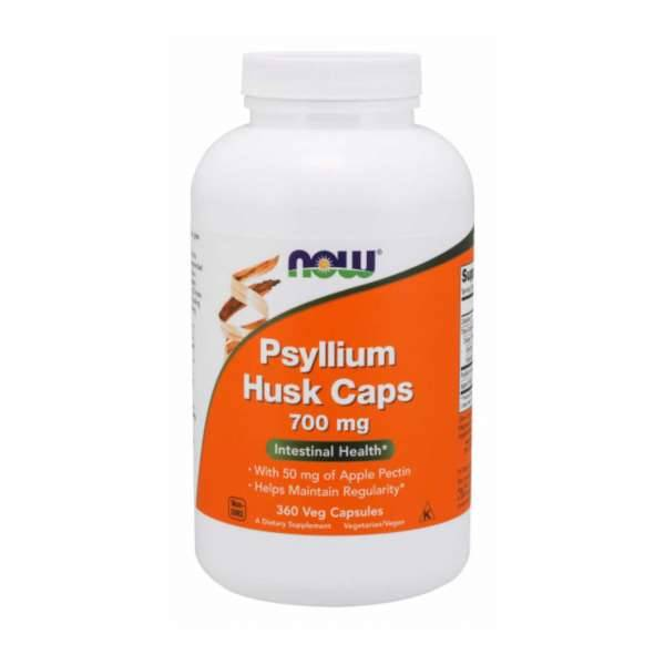 Now Foods Psyllium husk 700mg - 360 veg caps