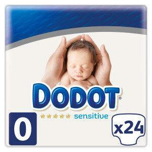 Dodot Pañales Protection Plus Sensitive Recién Nacido Talla 0 24 unidades Dodot