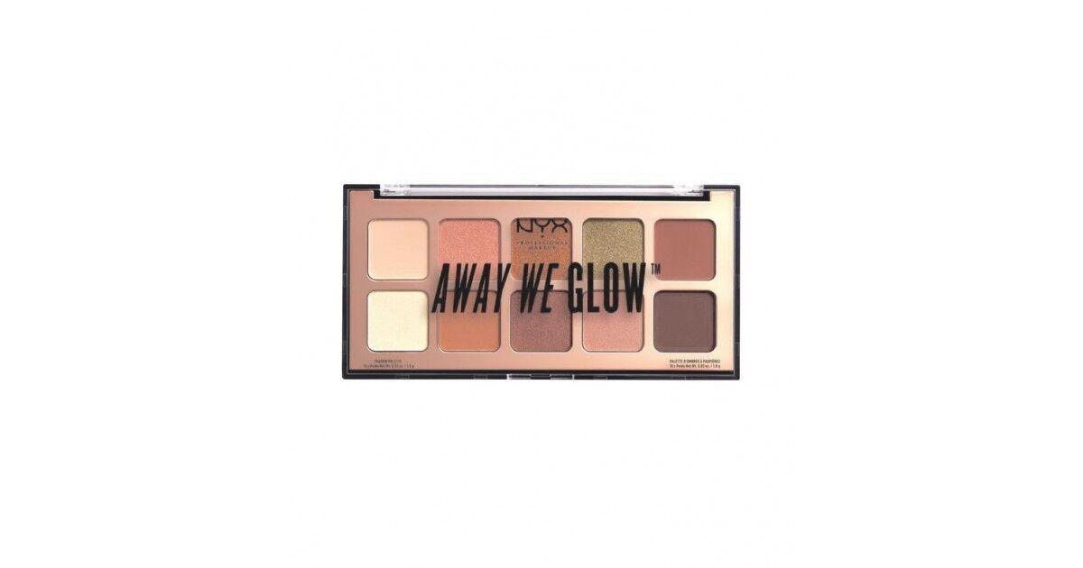 Nyx - Nyx Professional Makeup - Paleta De Sombras Away We Glow - Awgsp02: Hooked On Glow
