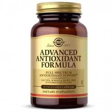 SOLGAR ADVANCED ANTIOXIDANT FORMULA 30CAP VEGETALES