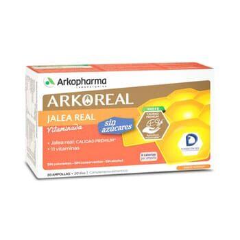 Arkopharma ARKOREAL JALEA REAL VITAMINADA SIN AZÚCARES 20 Viales de 15ml