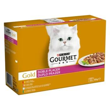 Gourmet Gold Doble Placer Pack Surtido 12X85g