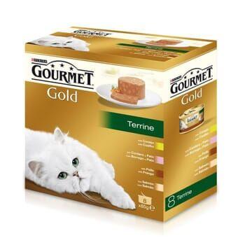 Gourmet Gold Terrine Pack Surtido 8X85g