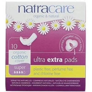 Natracare Compresa Ultra Extra Super Alas (Plegada) Ultra Ex