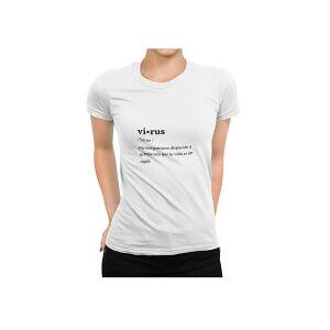 Pandemia De Valores Virus Camiseta Talla-l Unisex