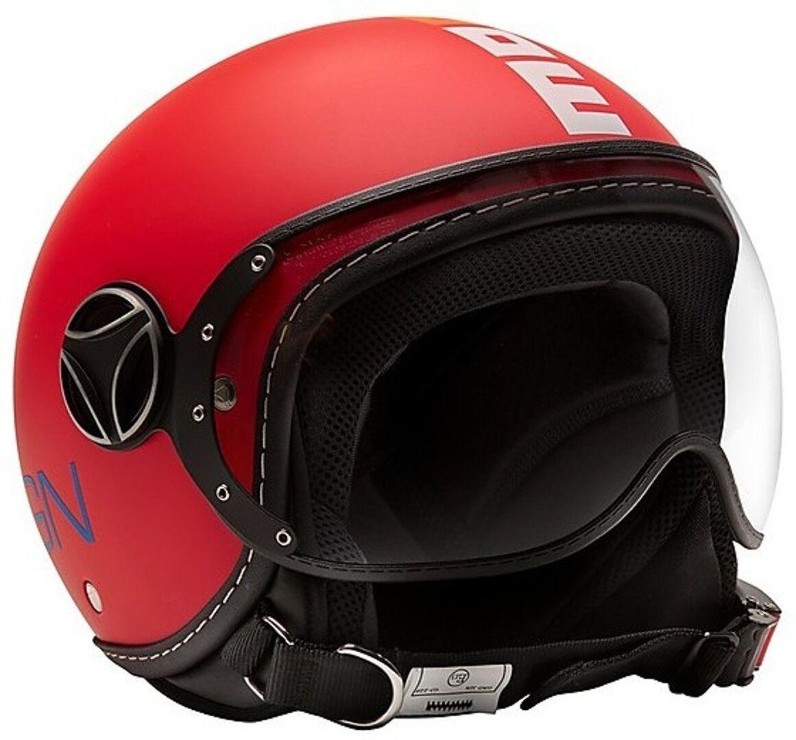 MOMO FGTR Baby Kids Jet Helmet Casco de jet para niños