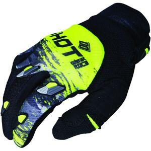 Shot Contact Counter Motocross guantes Gris Amarillo 3XL
