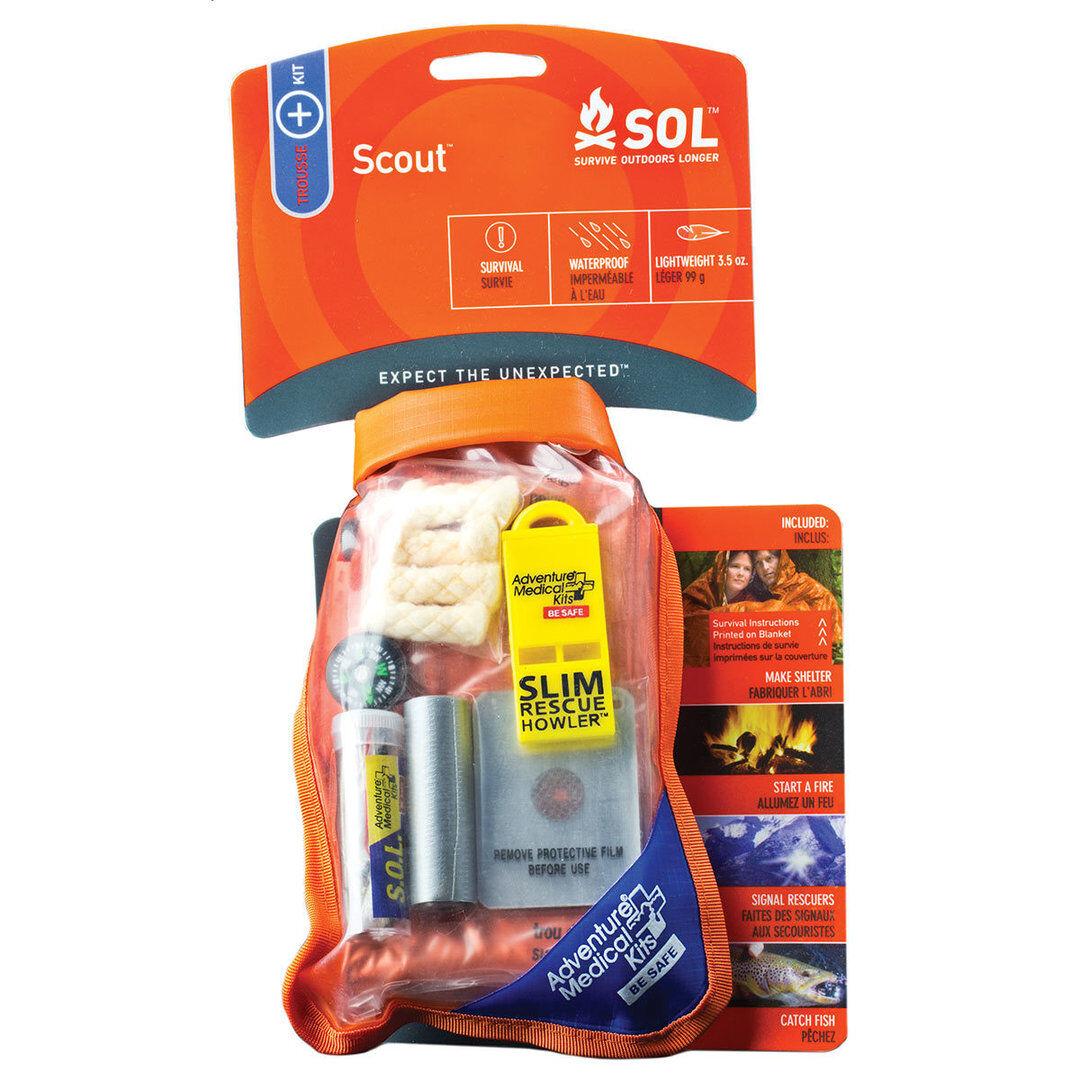 Klim S.O.L. Survival Pak Set de Primeros Auxilios