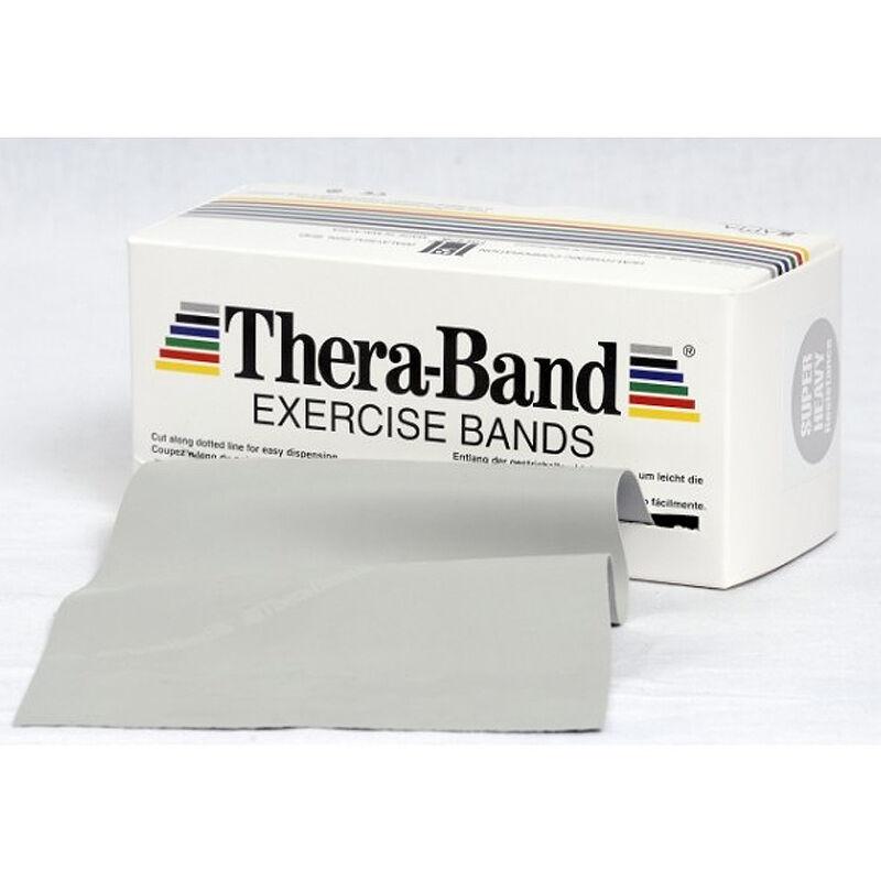 Thera Band 5.5 metros: Cintas de Látex de Resistencia Atlética - Color Plata