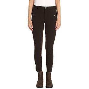Ultrasport - Pantalones de hípica para Mujer (Parte Trasera Flexible) Brown/Brown Talla:Size 72 (27 Inches Waist/34 Inches Length)