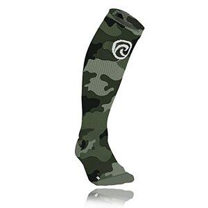 Rehband Qd - Calcetines de compresión (Talla S), diseño de Camuflaje