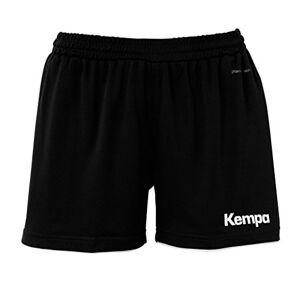 Kempa Emotion Shorts Women Pantalones cortos, Mujer, Multicolor (Amarillo/Negro), 2XL