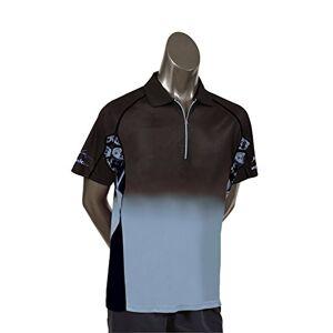 Unicornio James Wade de Jugador de los Hombres Camisa, diseño de Dardos, Hombre, Player Dart Shirt James Wade, Gris, Medium