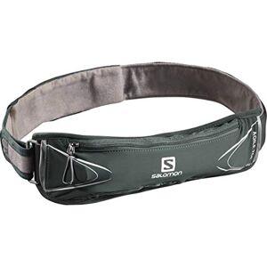 Salomon Agile 250 Set Belt Cinturón de Running, Incluye Botella SoftFlask de 250 ml, Unisex-Adult, Verde, One Size