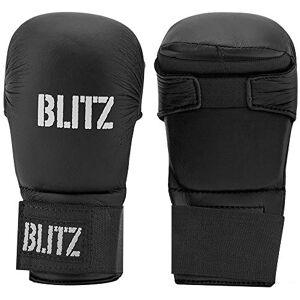 Blitz PU Elite - Guantes de Entrenamiento para Artes Marciales, Color Negro, Talla M