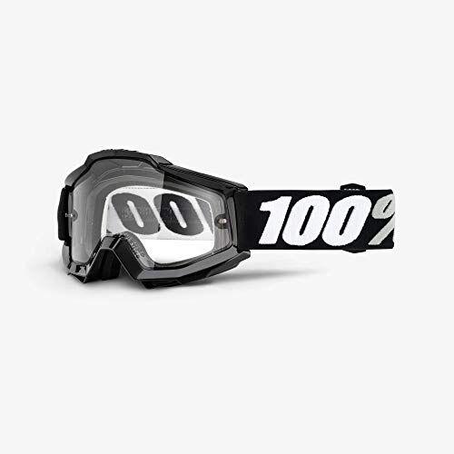 100 percent accuri enduro moto goggle tornado - clear dual lens