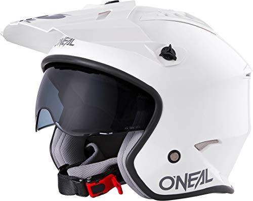 o'neal oneal volt helmet solid white l (59/60cm) casco moto mx-motocross, adultos unisex