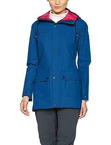 berghaus chaqueta rompevientos para mujer hambledon, mujer, color azul oscuro, tamaño talla 18