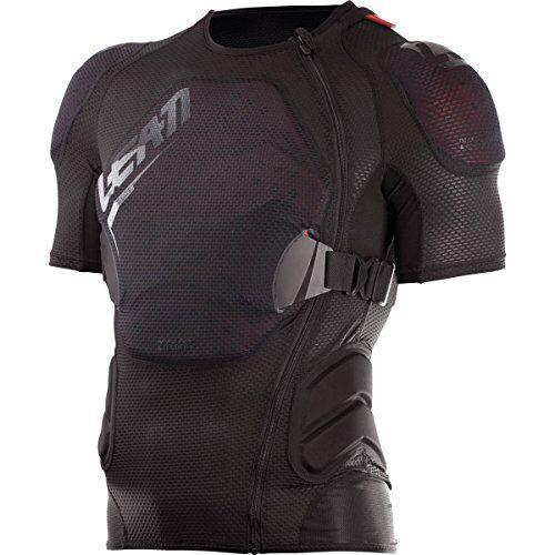 leatt 5017180020 - chaqueta de protección unisex para adulto, color negro, s/m 160-172 cm