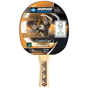 Donic-Schildkrt Raqueta de Tenis de Mesa Champs Line 150, Espinillas en el Interior, Almohadilla Jade-ITTF, 705116