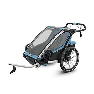 Thule Chariot Sport2, Azul Remolque De Bicicleta, Adultos Unisex, BLU, Talla única